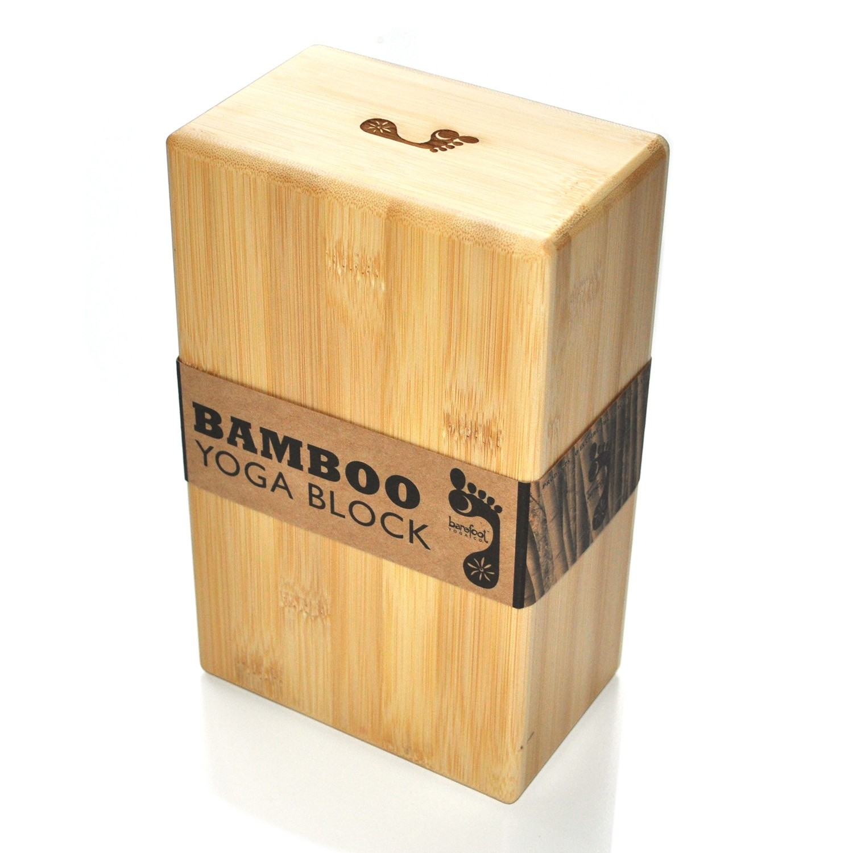 Bamboo Yoga Block - Second Quality