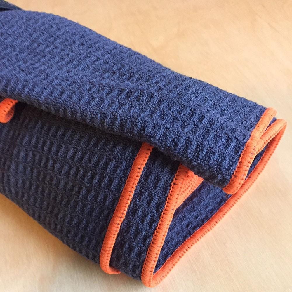 Yoga waffle towel