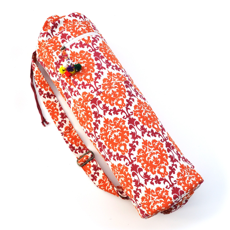 Printed Cotton Yoga Mat Bag - Second Quality