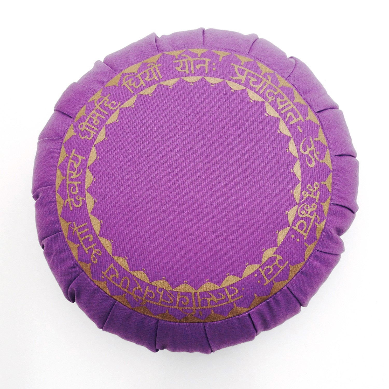 Barefoot Yoga Gayatri Mantra Sanskrit Zafu