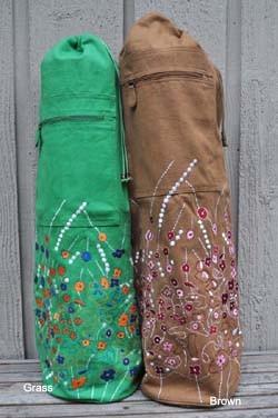 Indian Peacock  Yoga Mat Bag