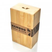 Bamboo Yoga Block - Second Quality
