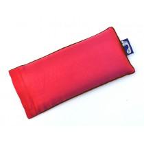 Coral Eye Pillow (Brown Piping)