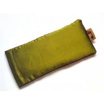 Moss Eye Pillow (Berry Piping)