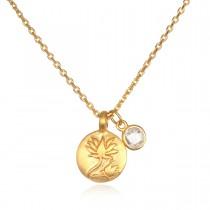 Emerging Self Lotus Necklace