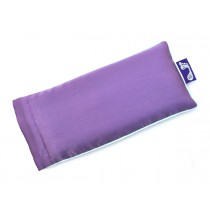 Purple Eye Pillow (Light Green Piping)