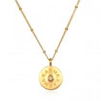 Sacred Karma Gold Necklace