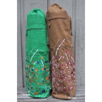Indian Peacock Yoga Mat Bag