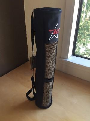 Black Mesh Yoga Mat Bag