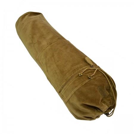 Cotton Velvet Yoga Mat Bag