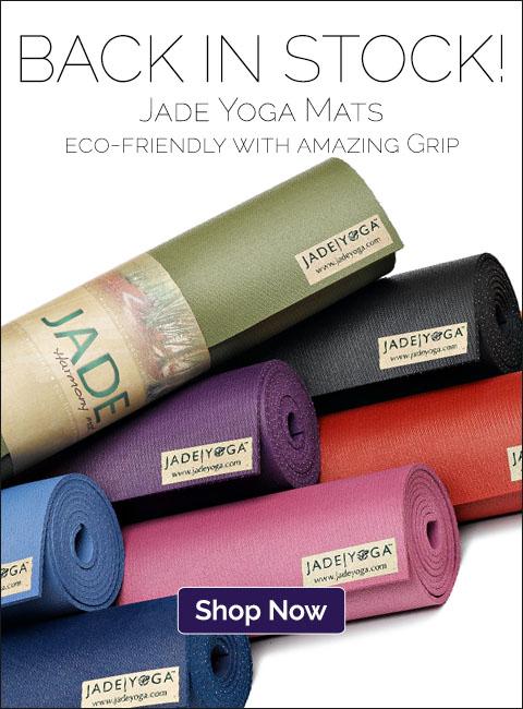 Back in stock! Jade Yoga Mats