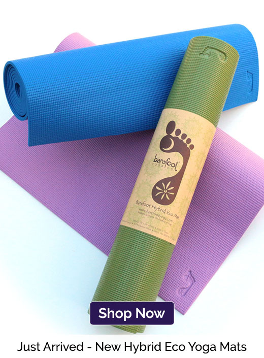 Just Arrived - New Hybrid Eco Yoga Mats