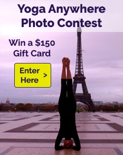 Yoga Anywhere Photo Contest
