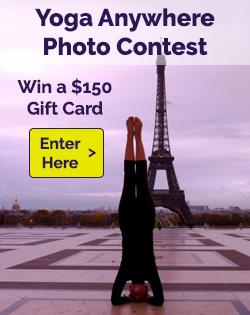 Yoga Anywhere Photo Contest