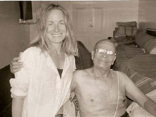 Kelly LeFebvre and Sri K Pattabhi Jois