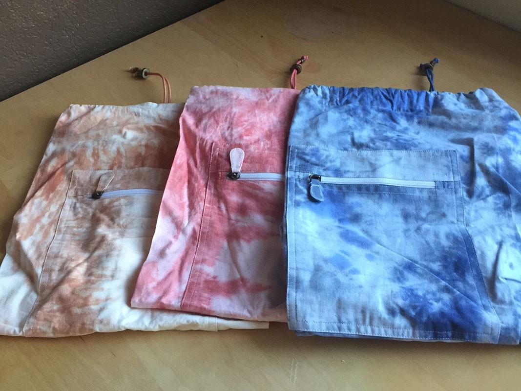 Tie Dye Cotton Yoga Mat Bag