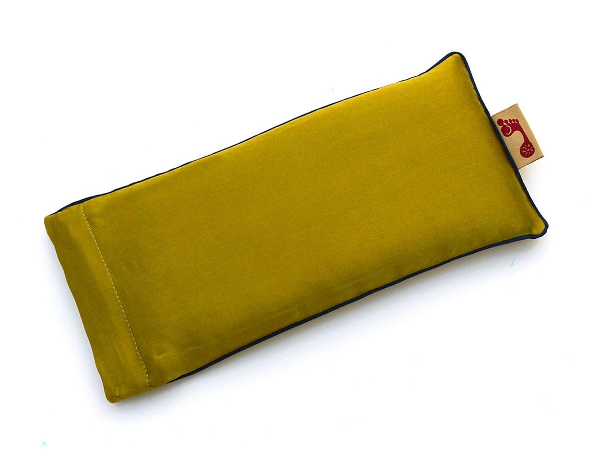 Moss Eye Pillow (Navy Piping)