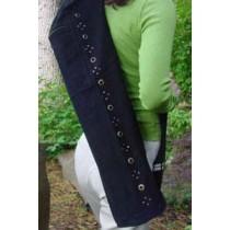 Cotton Canvas Yoga Mat Bag with Vents