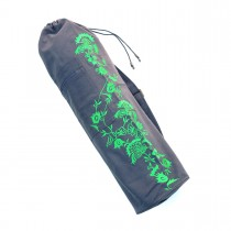 Floral Vine Yoga Mat Bag