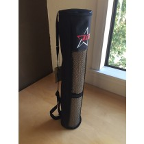 Black Mesh Yoga Mat Bag