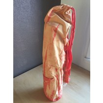 Peach Cotton Jersey Tie Dye Yoga Mat Bag