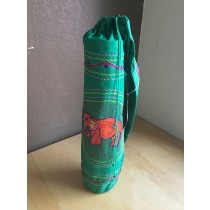 Embroidered Elephant Yoga Mat Bag