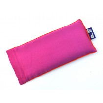 Magenta Eye Pillow (Orange Piping)
