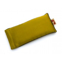 Moss Eye Pillow (Navy Piping)
