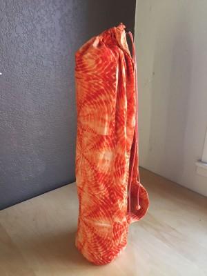 Cotton Tie Dye Yoga Mat Bag