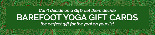 Barefoot Yoga Gift Cards