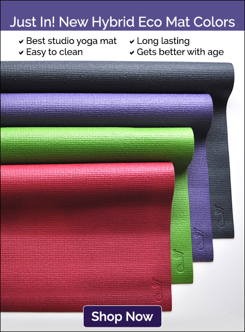 Just In! New Hybrid Eco Yoga Mat Colors