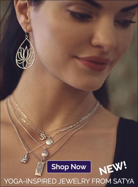 NEW! Yoga-Inspired Jewelry from Satya